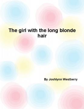 The girl with the long blonde