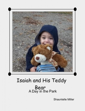 Isaiah and his teddy bear