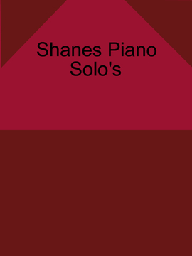 Blank Piano Music Book