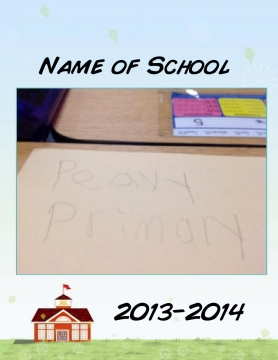 Peavy primary year book of 2013 and 2014