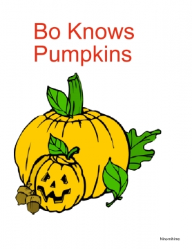 Bo Knows Pumpkins