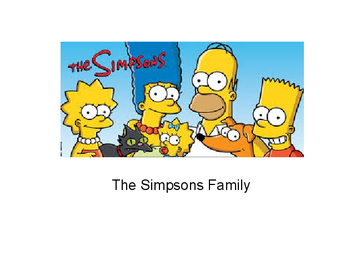 The Simpson's Family