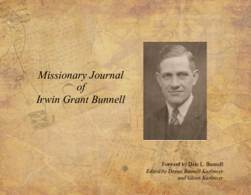 Missionary Journal of Irwin Bunnell