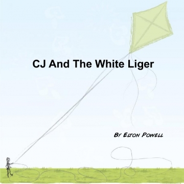 CJ and the white Liger