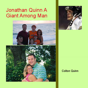 Jonathan Quinn A Giant Among Man