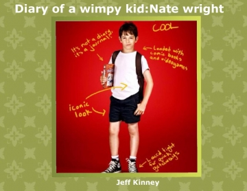 Diary of a wimpy kid:Nate wright