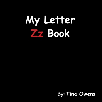 My Letter Zz Book
