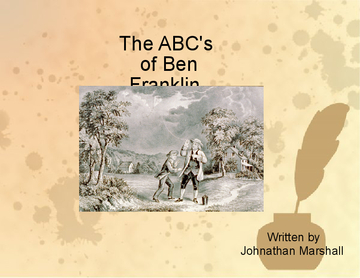 The ABC's of Ben Franklin
