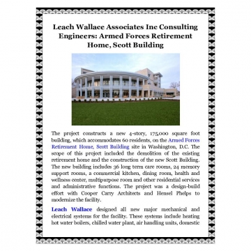 Leach Wallace Associates Inc Consulting Engineers