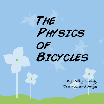 The Physics of Bicycles