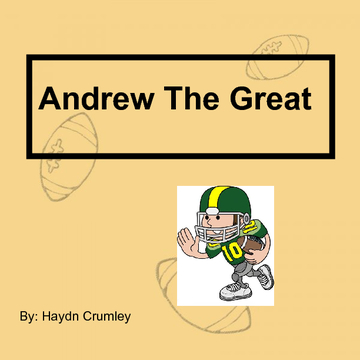 Andrew The Great