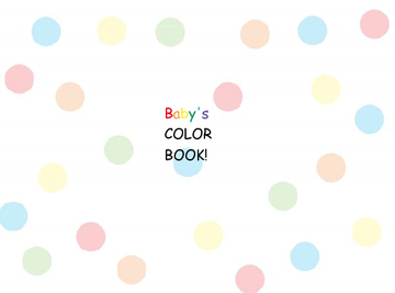 Baby's color and feelings book!