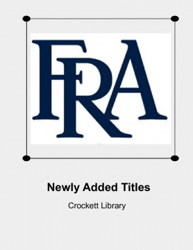Newly Added Titles at Crockett Library