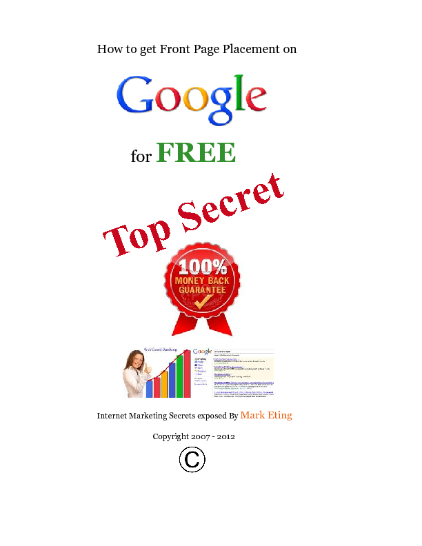 how to get placement in google