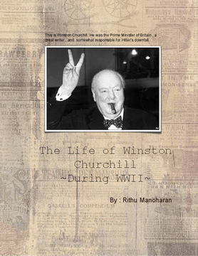 The Life of Winston Churchhill