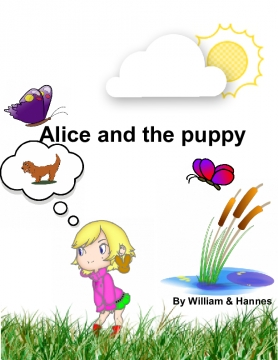 Alice and the puppy
