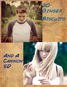 Twenty Ginger Biscuits and a Cannon 5D  ~Jack Harries Love Story~