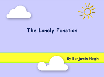 The Lonely Function
