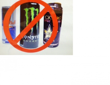 NO MORE ENERGY DRINKS