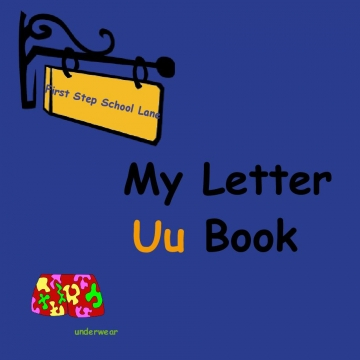 My Letter Uu Book