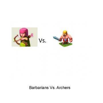 Archers Vs. Barbarians
