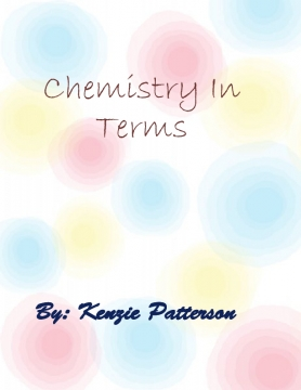 Terms of Chemistry