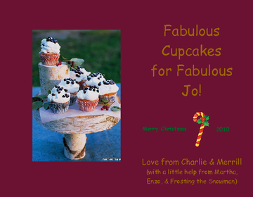 Fabulous Cupcakes for Fabulous Jo!