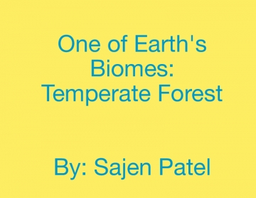 Earth's Biomes Project