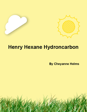 Henry Hexane Hydrocarbon