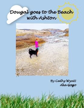 Dougal goes to the beach with Ashton