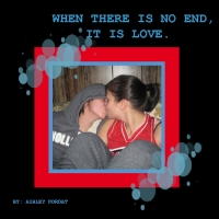 WHEN THERE IS NO ENDING, IT IS LOVE