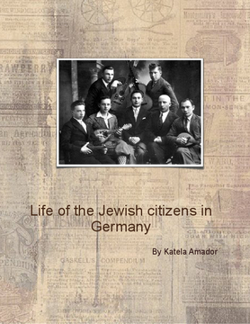 life OF THE jewish citicenZ in germany