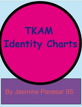 Identity Charts for Characters in TKAM