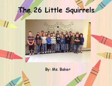 The 26 Little Squirrels