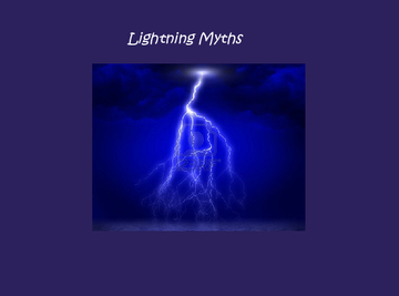 lightning myths