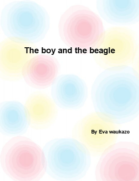 The boy and the beagle
