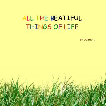 All The Beautiful Things Of Life