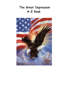 The Great Depression A-Z Book
