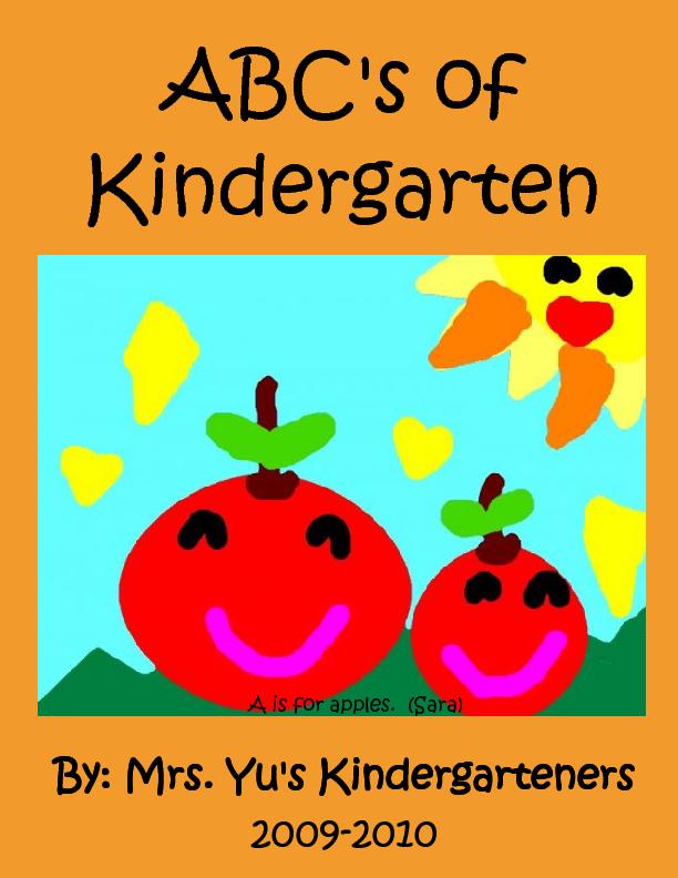 ABC's of Kindergarten | Book 51396 - Bookemon