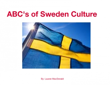 ABC's of Sweden Culture