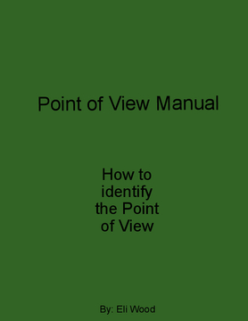 Point of View Manual