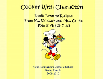 Cookin' With Character