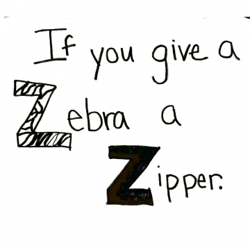 If You Give a Zebra a Zipper