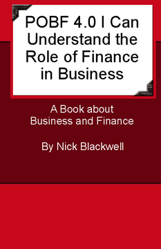 POBF 4.0 I Can Understand the Role of Finance in Business
