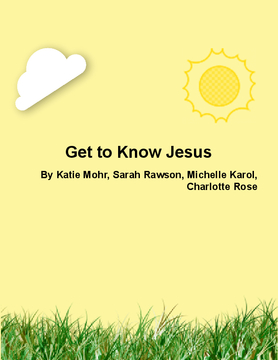 Get to Know Jesus