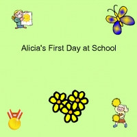 Alicia's First day at school