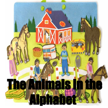 The Letter of the Alphabet with Animals