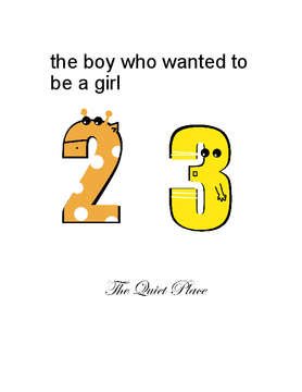the boy who wanted to be a girl