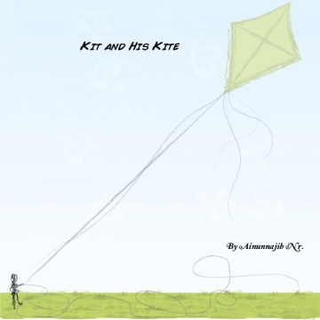 A Boy and His Lovely Kite
