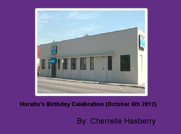 Horatio's Birthday Celebration (October 6th 2012)